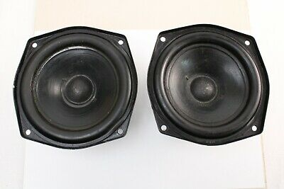 £180 • Buy Pair Kef B110 1973 - Both 7.6 Ohm - One Cone Has Tiny Scuff - SEE DESCRIPTION