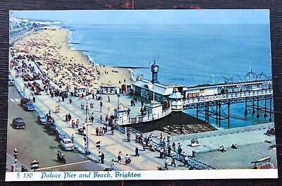 £3.80 • Buy Palace Pier And Beach Brighton Sussex Post Card