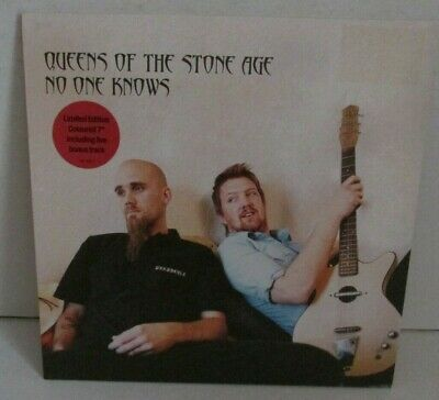 £20 • Buy Queens Of The Stone Age Limited Grey Vinyl PS 7  Vinyl  No One Knows