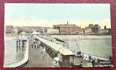 £4.60 • Buy Brighton View  From West Pier Sussex Post Card