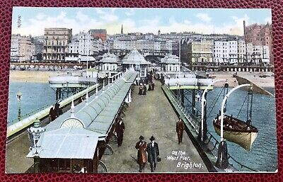 £4.60 • Buy On The West Pier Brighton Sussex Post Card