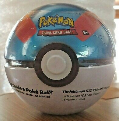 $17.95 • Buy Pokemon TCG Great Ball Tin C20 Includes 3 Booster Packs And Coin!!