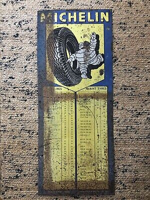 £245.99 • Buy Rare Michelin Tyres Advertising Sign 1950s