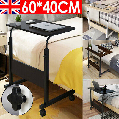 £10.99 • Buy Laptop Table Computer Notebook Desk Adjustable Portable Trolley Sofa Bed Tray UK