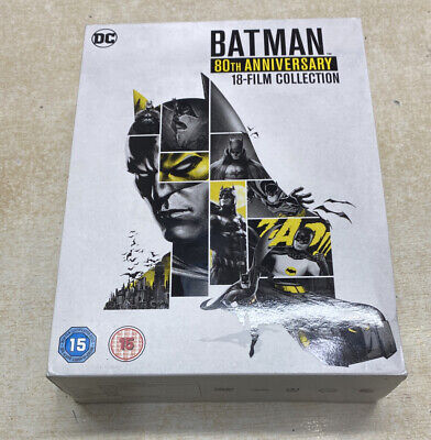 £22.99 • Buy Batman 80th Annniversary Collection [2019] (DVD) SmallCrack In Casing Discs Good