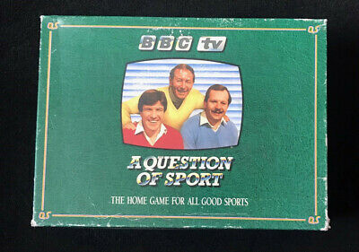 £50 • Buy The Games Team A Question Of Sport Board Game 1986 - COMPLETE NEVER USED