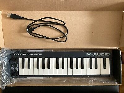 $41.42 • Buy M-audio Keystation Mini 32 With Box And Lead - Full Working Order