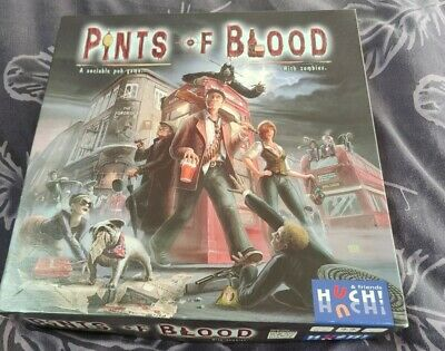 £8.50 • Buy Pints Of Blood Board Game Huch And Friends Zombies
