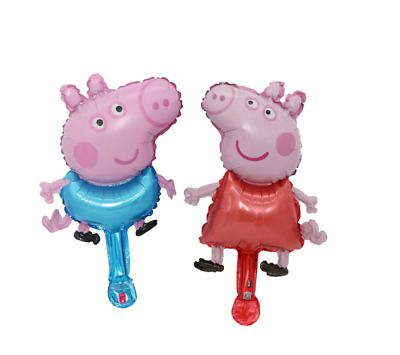 £2.99 • Buy Peppa George Pig Inflatable Air Hand Balloons Kids Party Decorations Supply