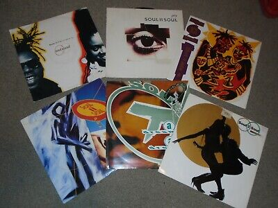 £9.99 • Buy 6 X 12   Soul II Soul Vinyl Record Collection.    80's Groove / Jazzie B