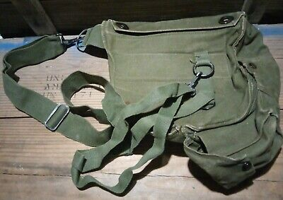 $5.98 • Buy Authentic Vietnam Tunnel Rats M17 Gas Mask Respirator Waist Bag Pouch Usmc Army
