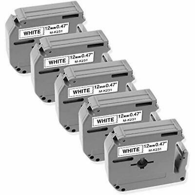 $17.99 • Buy Compatible Label Tape Replacement For Brother P-touch M 12mm 0.47  M-K231 M231