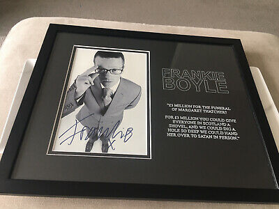 £15 • Buy Frankie Boyle Signed & Framed Picture / Quote