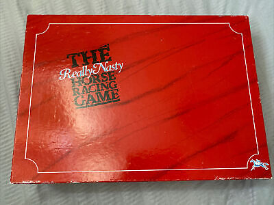 £49.99 • Buy The Really Nasty Horse Racing Game 1989 Edition - Complete - Excellent Condition