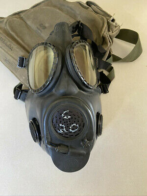 $24 • Buy US Mask , Chemical-Biological, Field, M17A2 Gas Mask With Bag