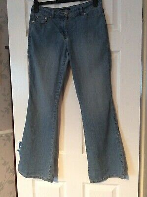 £9.95 • Buy Dorothy Perkins Bootcut/flare Blue Jeans Size 12