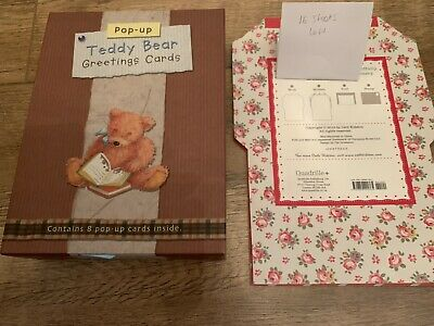 £10 • Buy Cath Kidston Fold & Mail Stationery 16 Sheets & Box Teddy Bear Greetings Cards 8
