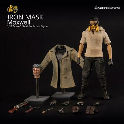 $69.99 • Buy VOR-MAX: VORTEX TOYS Iron Mask Maxwell 1/12 Scale Action Figure