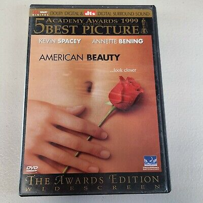 AU6.67 • Buy American Beauty Widescreen Edition Kevin Spacey Annette 60% OFF 4+ DVD $2 Each