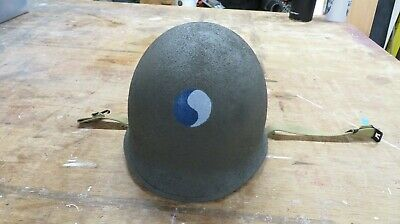 $150 • Buy WWII M1 Helmet Early War Front Seam Fixed Bale