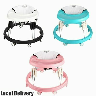 £39.99 • Buy Portable Baby Walker Activity Toy First Step Push Along Walking Bouncer Safety