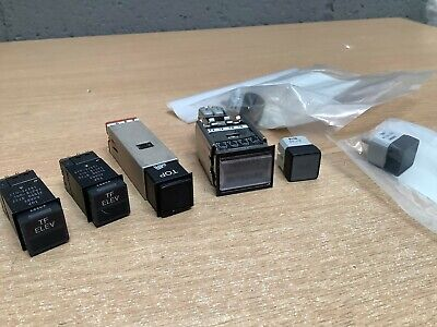 £25 • Buy 6 X Mixed Tornado Cockpit  Control Panel Switches