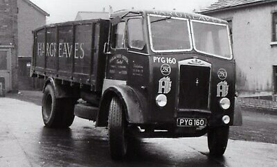 £1 • Buy Road Haulage Transport Lorry Photo-hargreaves  Leeds-albion Tipper-pyg160
