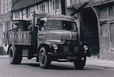 £1 • Buy ROAD HAULAGE TRANSPORT LORRY PHOTo-COSTAIN-LEYLAND COMET TIPPER-PPE142