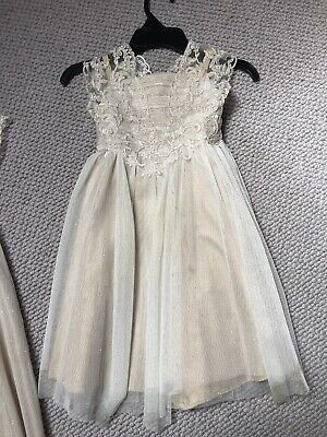 £4 • Buy Monsoon Flower Girl Dresses Age 3 And Age 4