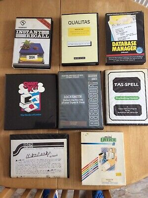 £10 • Buy Amstrad Cpc464/664/6128 Utilities On Disk See Pictures For Details