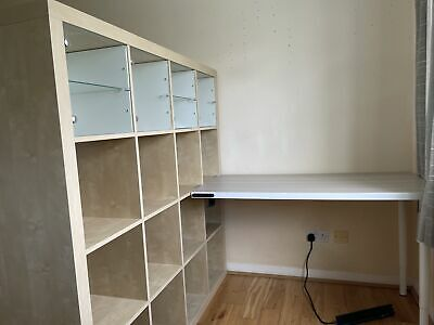 £8.75 • Buy Ikea Kallax Shelve And Attached Table