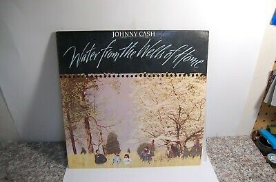 £7.08 • Buy *A     JOHNNY CASH   Water From The Wells Of Home Vinyl Record-  LP