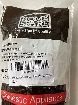 £1.58 • Buy New Hotpoint Drum Paddle Lifter 1604464