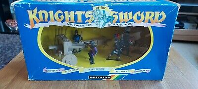 £19.99 • Buy Britains Deetail Toy Soldiers Knights Of The Sword Siege Weapon Boxed