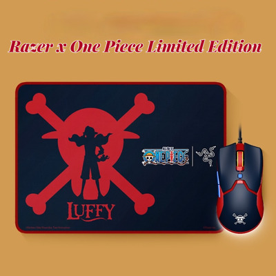 AU120.42 • Buy Razer X One Piece Monkey D. Luffy Viper Gaming Mini Mouse And Mouse Pad Combo