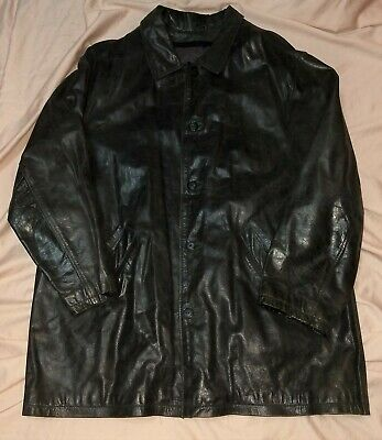 $99.99 • Buy Mens Vintage Leather Jacket M.julian Wilsons Thinsulate Removeable Lining Coat
