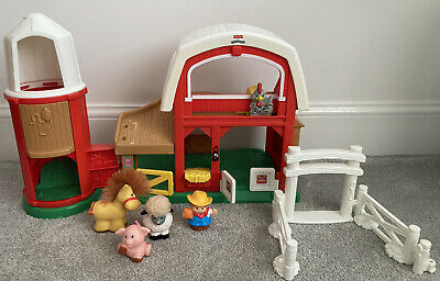 £19.95 • Buy Fisher Price Little People Farm With Music & Sounds With Figures