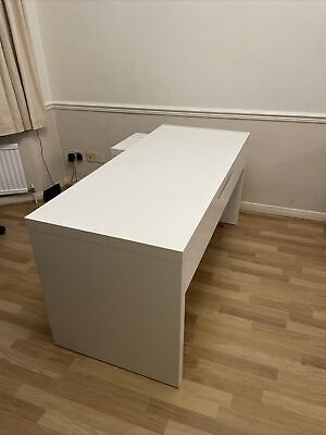£9.50 • Buy Ikea Malm Desk With Pull Out L Desk