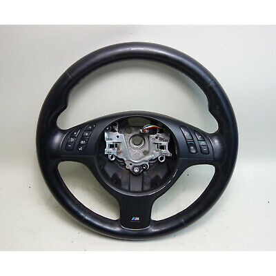 $299 • Buy 2001-2006 BMW E46 M3 E39 M5 Factory M Sports Leather Steering Wheel OEM