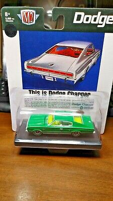 $ CDN19.30 • Buy M2 Machines 1:64 1966 Silver Dodge Charger 383 Diecast Model Car 11228-73 Chase