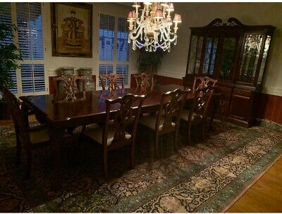 $1999 • Buy Stanley Mahogany Dining Room Table And 6 Chairs