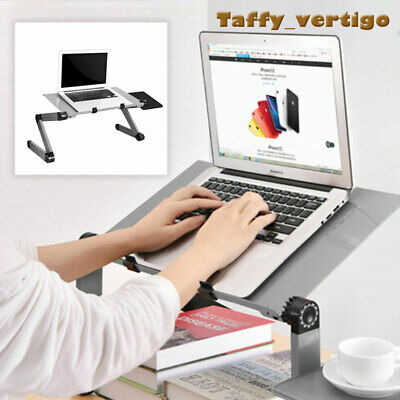 £8.95 • Buy Adjustable Portable Laptop Stand Lazy Lap Sofa Bed PC Notebook Desk Table Tray