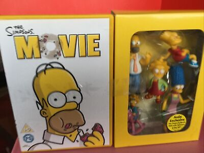 £7.50 • Buy The Simpsons Movie DVD With Figurines - ASDA Exclusive