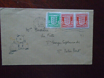 £1.95 • Buy Guernsey WWII 1943 Occupation States Office Cover With Doodle