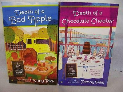 £4.30 • Buy Penny Pike Books 2,food Festival Mystery,death Of A Chocolate Cheater,bad Apple