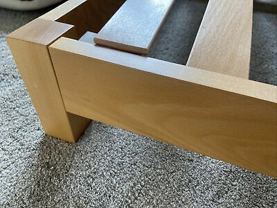 £100 • Buy Natural Bed Company Super King Low Attic Clear Pine Base RRP £830