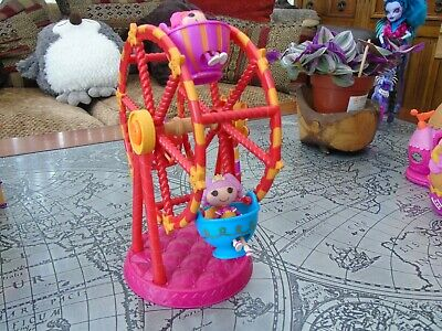 £12 • Buy Lalaloopsy Playset Includes Tree, House, Big Wheel Etc And Lots Of Small Parts.