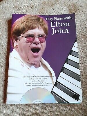 £5.99 • Buy Play Piano With ... Elton John  Piano  Book With CD - Cheapest