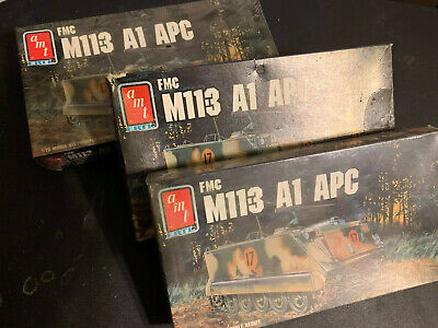 $19.50 • Buy Fmc M113 M11-3 M11.3 A1 Apc Amt 1/72 New & Sealed! ▓rare▓ *vintage* 3 Pack!!