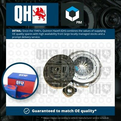 $ CDN188.99 • Buy Clutch Kit 3pc (Cover+Plate+Releaser) QKT1772AF Quinton Hazell 1960052 Quality